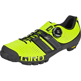 Giro Code Techlace Shoes Herre lime/black